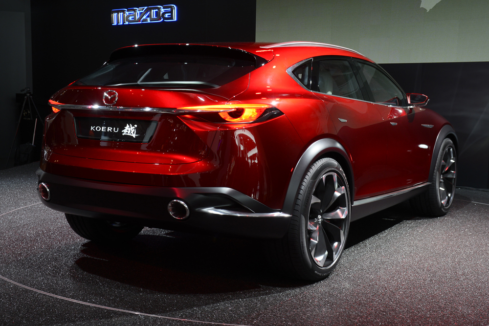 Mazda pulls covers off Koeru concept