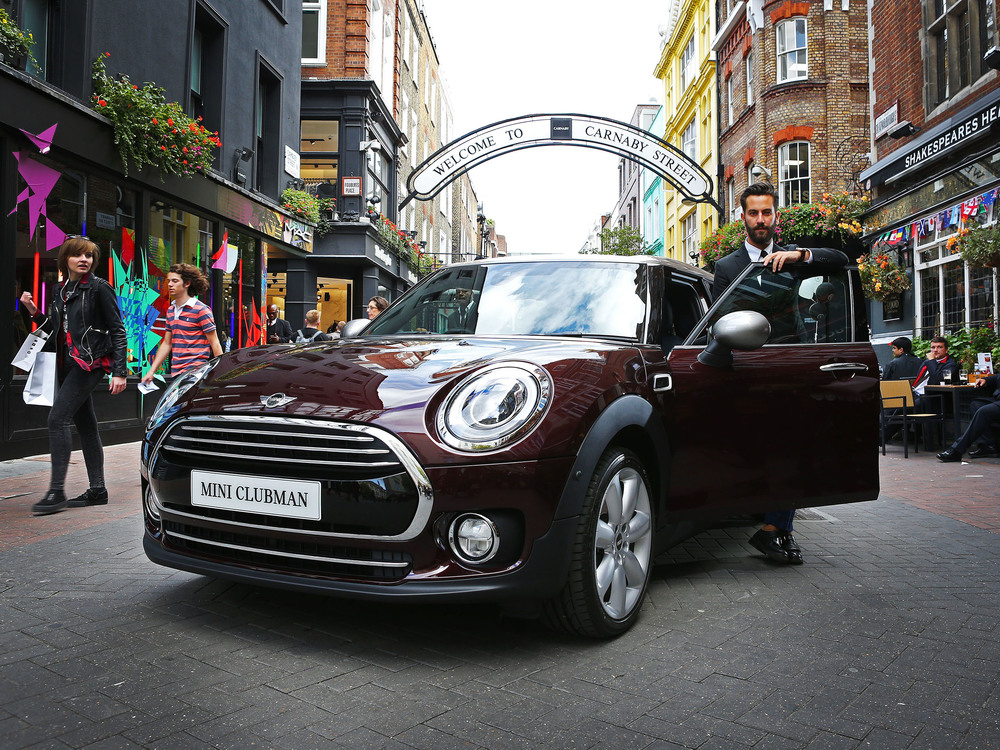UK premiere for new MINI Clubman