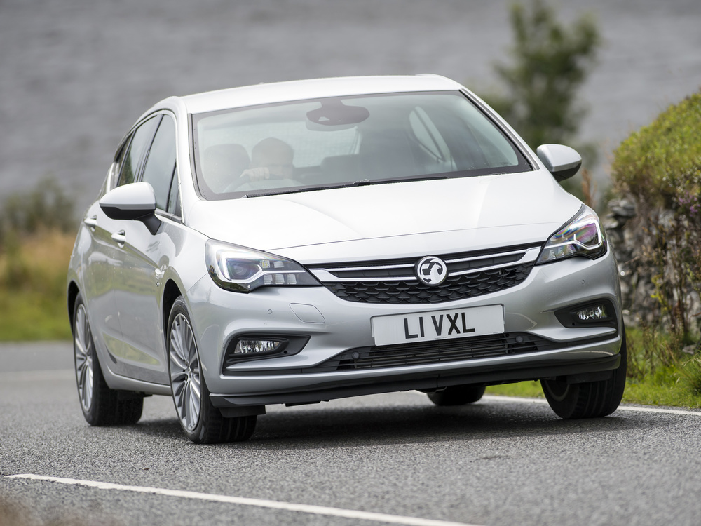 New Vauxhall Astra on sale