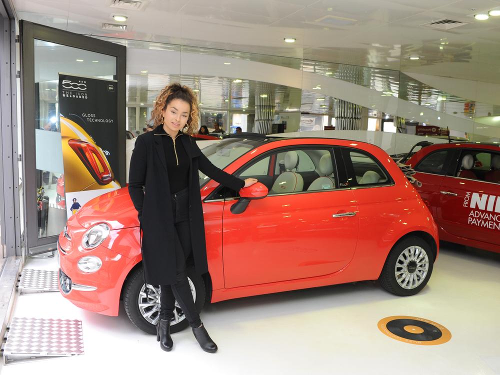 Ella Eyre fronts new Fiat 500 campaign