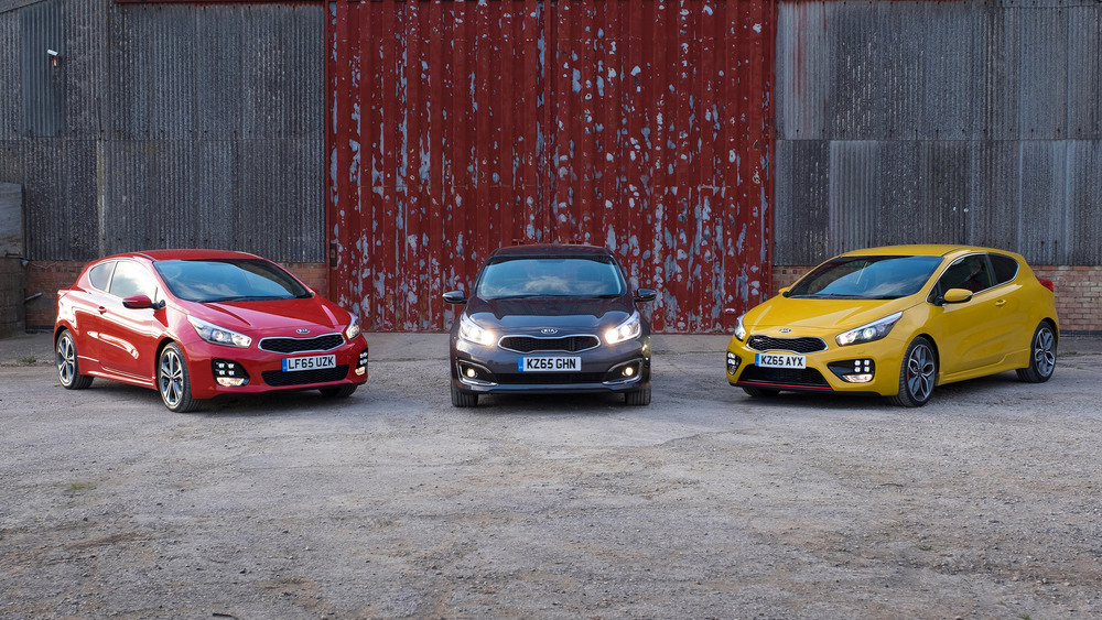 Kia cee'd gets new powertrains