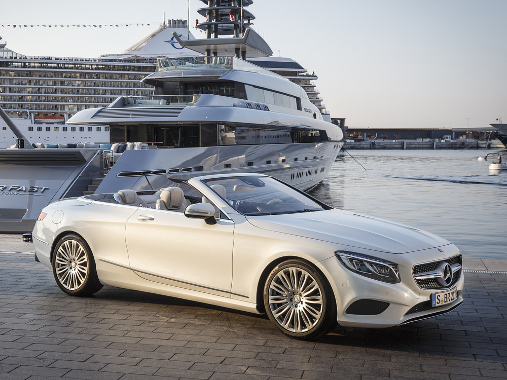 Mercedes revives flagship Cabriolet