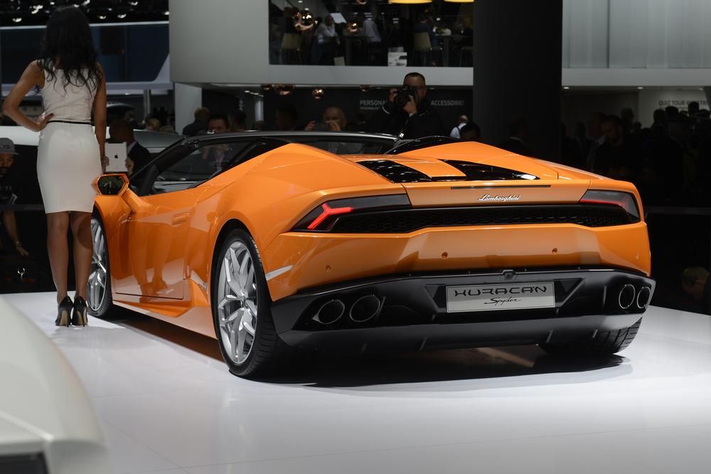 New Lamborghini Huracan Spyder