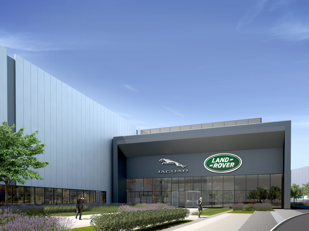 Jaguar Land Rover to double Engine plant size