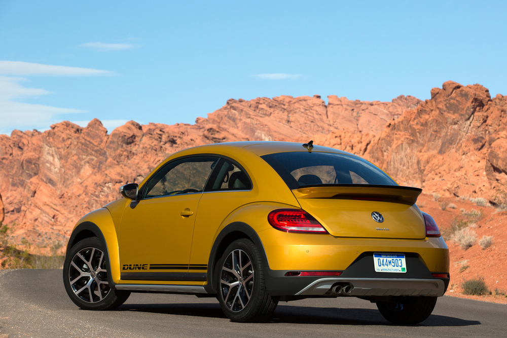 Volkswagen Beetle Dune set for world debut in LA