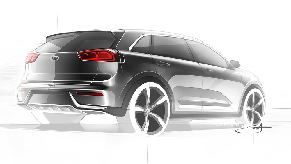 Kia confirms new Niro hybrid