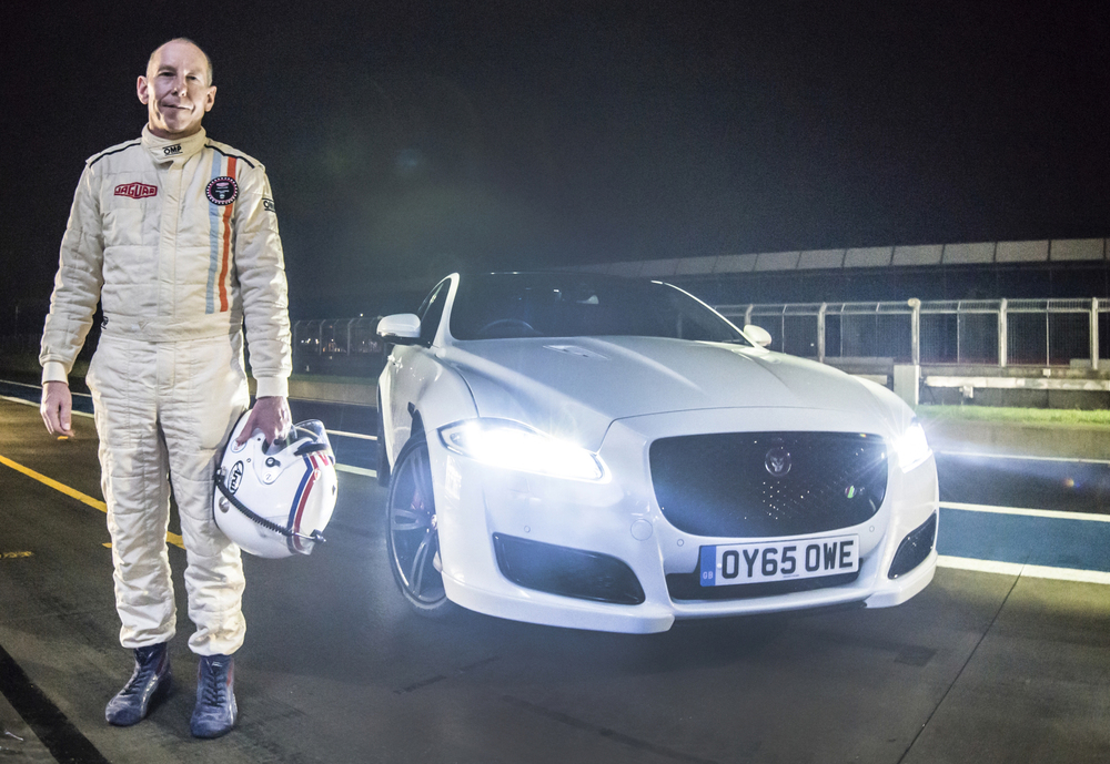 Le Mans-winning Jaguar XJ-R9 LM tested against new XJR