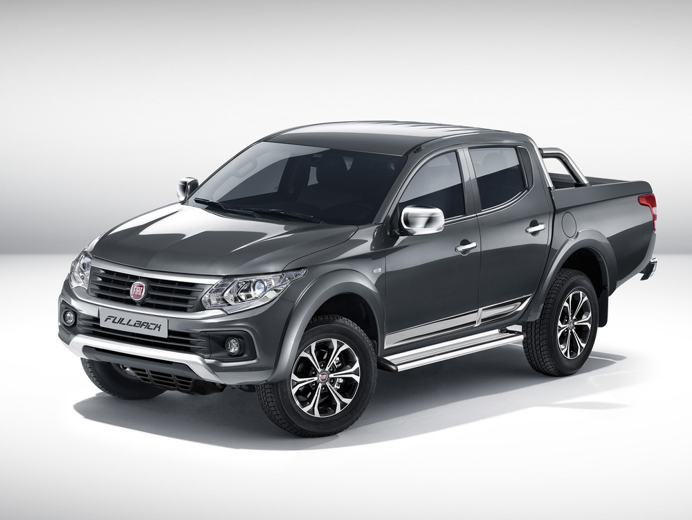 New Fiat Fullback pick-up revealed