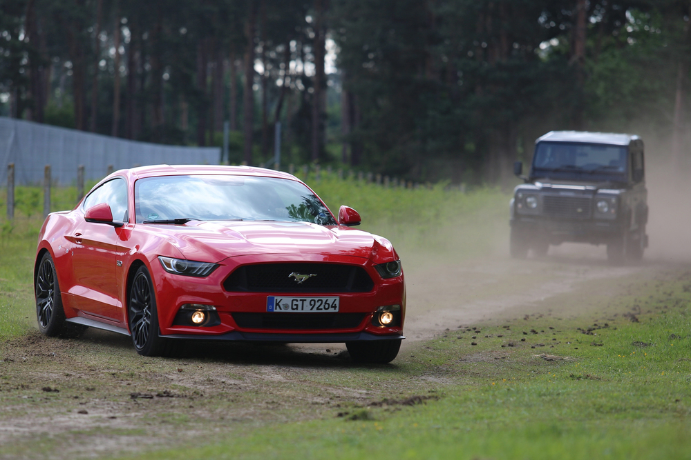The Stig names Ford Mustang as ultimate stunt car