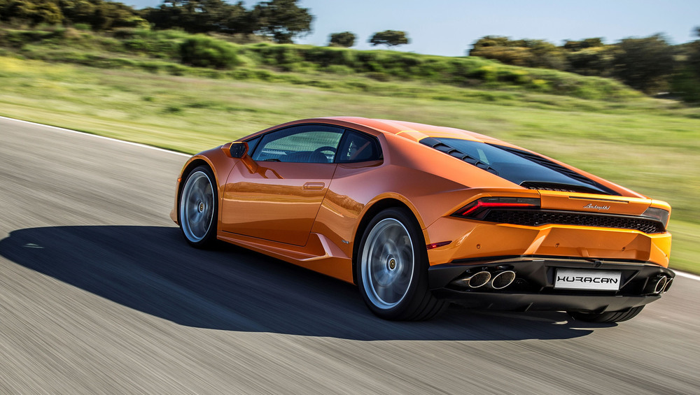 Lamborghini Huracan updated for 2015