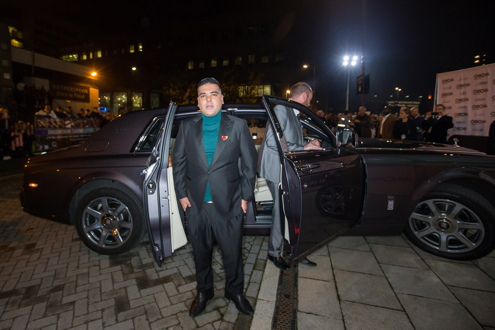 Rolls-Royce chauffeurs stars to MOBO awards