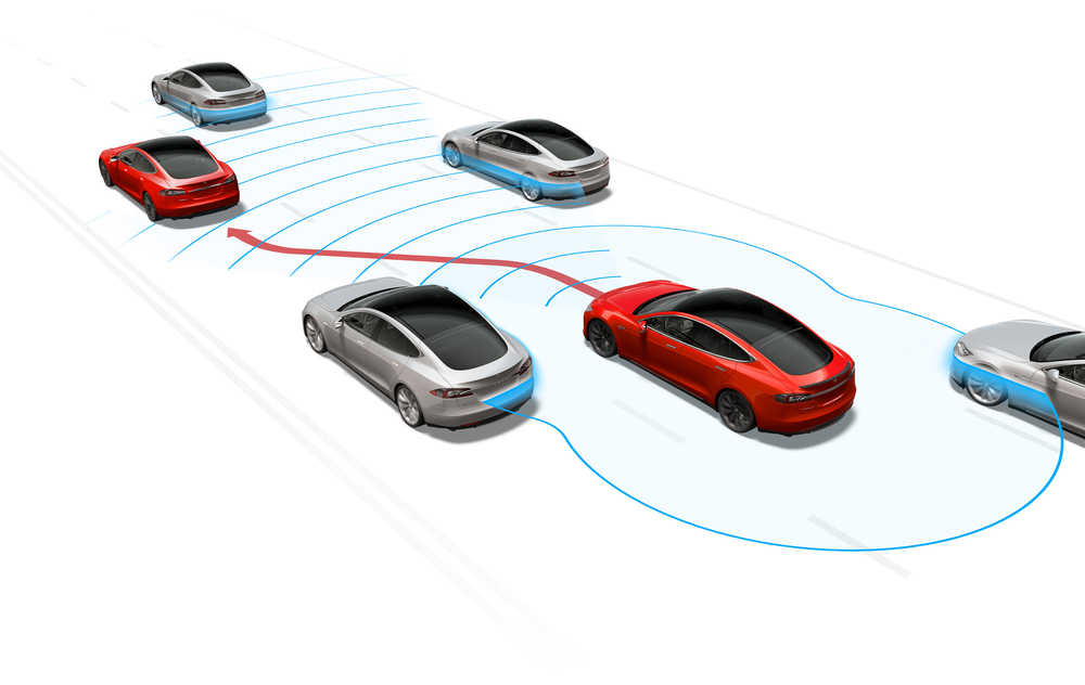 Tesla Model S Software update adds Autopilot