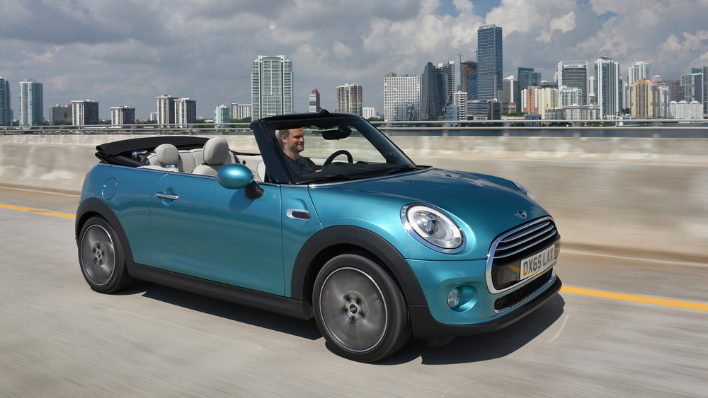 New MINI Cooper Convertible revealed