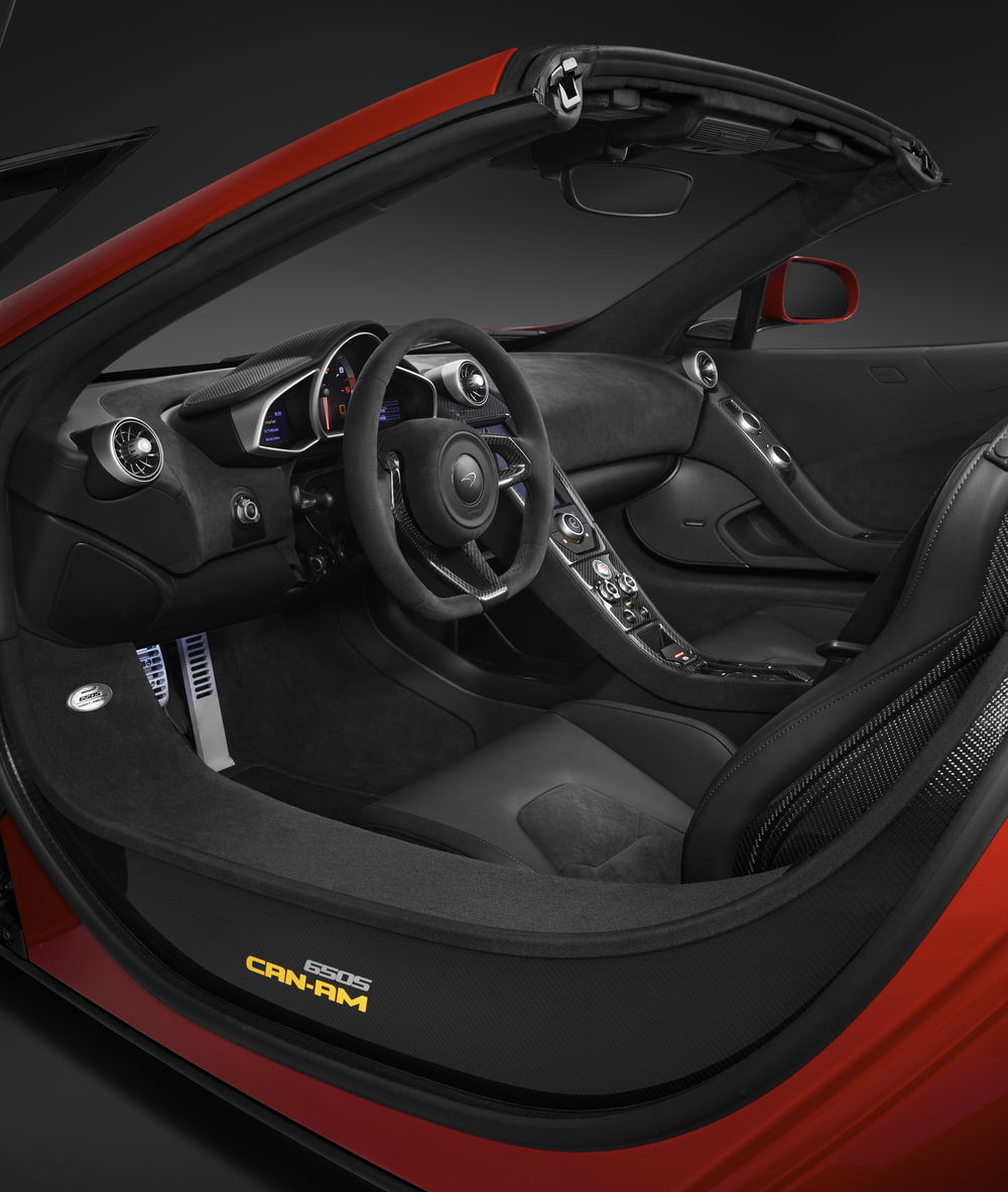 McLaren reveals limited 650S Can-Am edition
