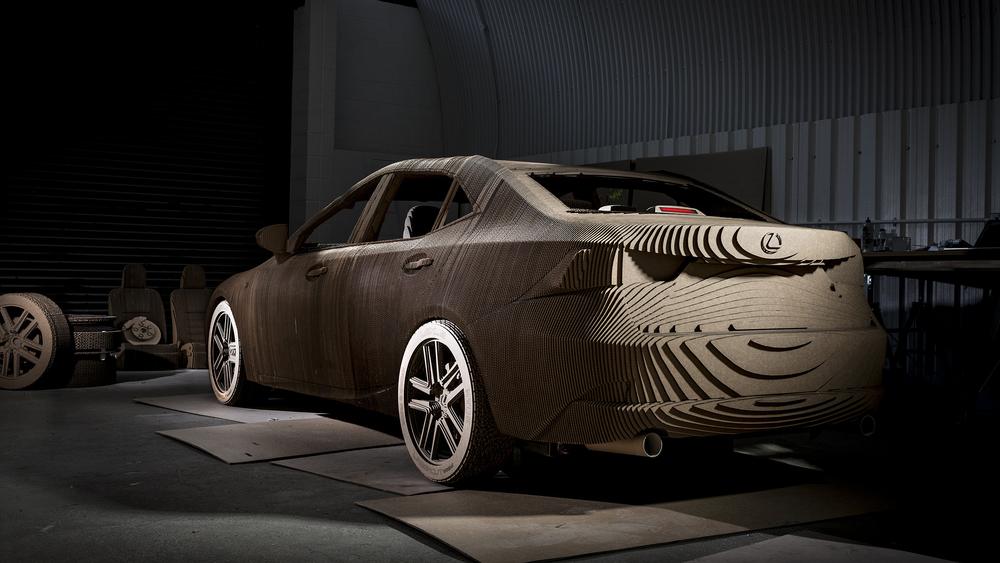 Lexus builds life-size Origami Car