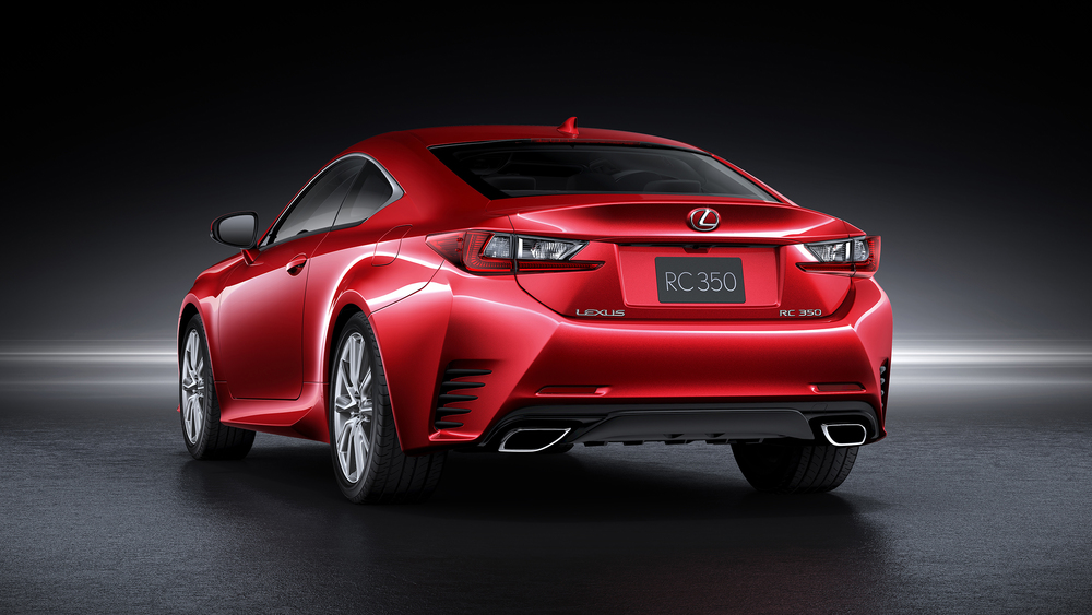 Order books open for all-new Lexus RC coupe