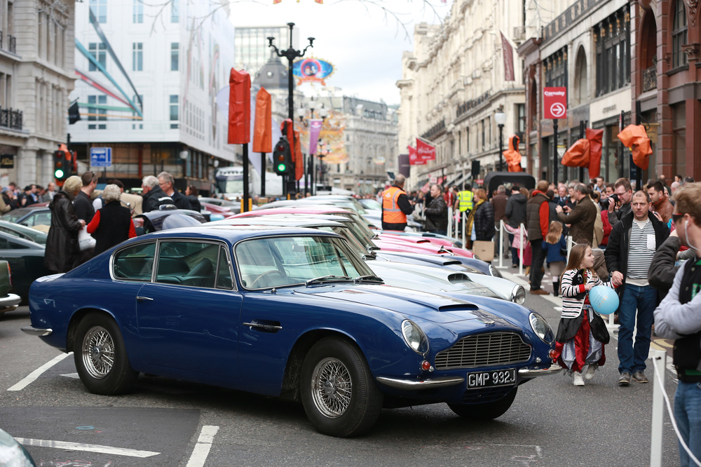 007's Aston Martin DB10 set for Regent Street Motor Show