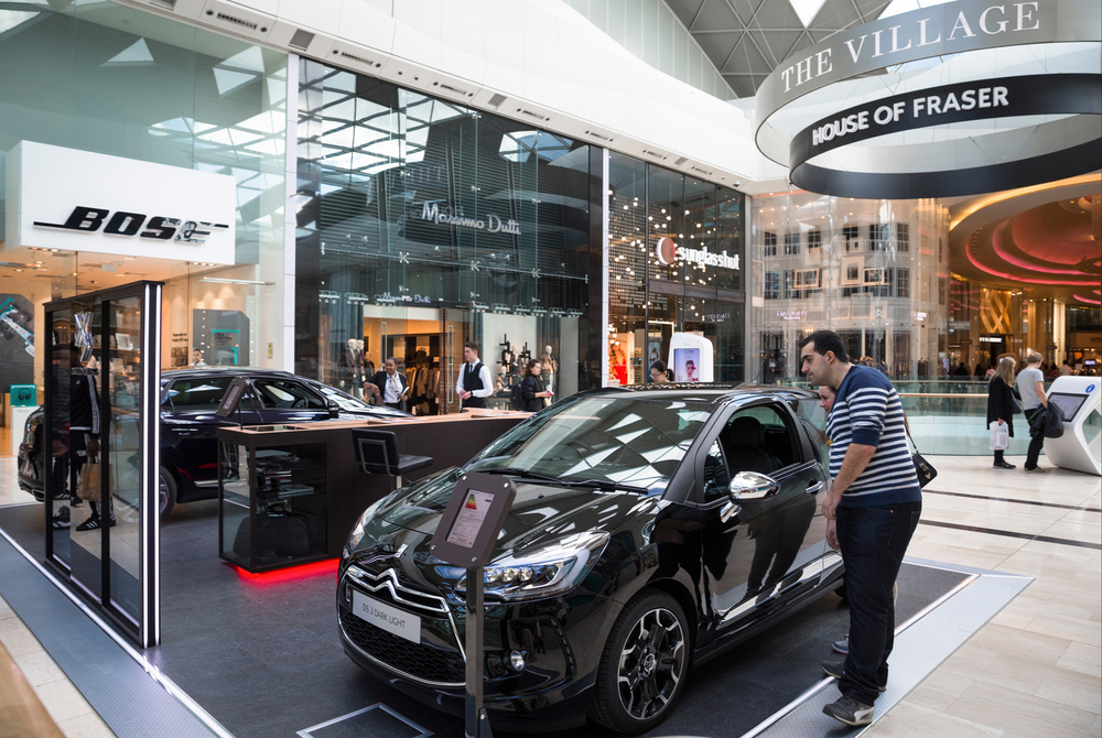 DS Automobiles targets Westfield's luxury label shoppers