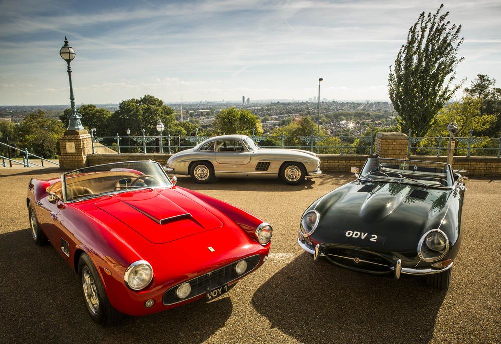 Classic Cars assemble at Alexandra Palace