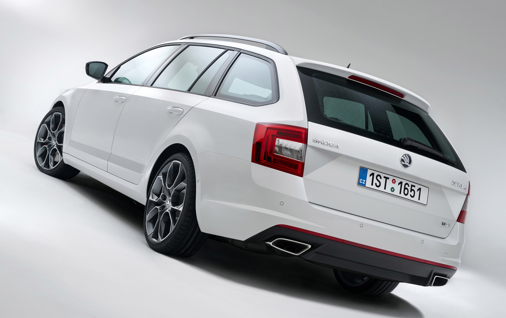 Skoda Octavia vRS adds 4x4 option