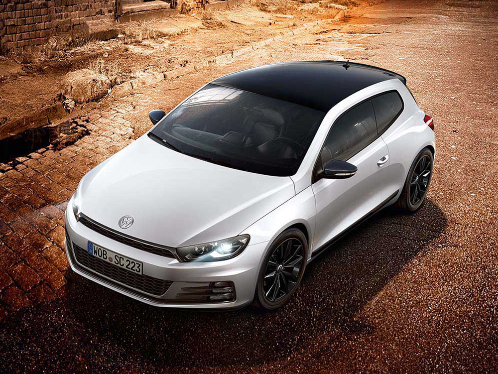 Volkswagen Scirocco gets special Black Edition models