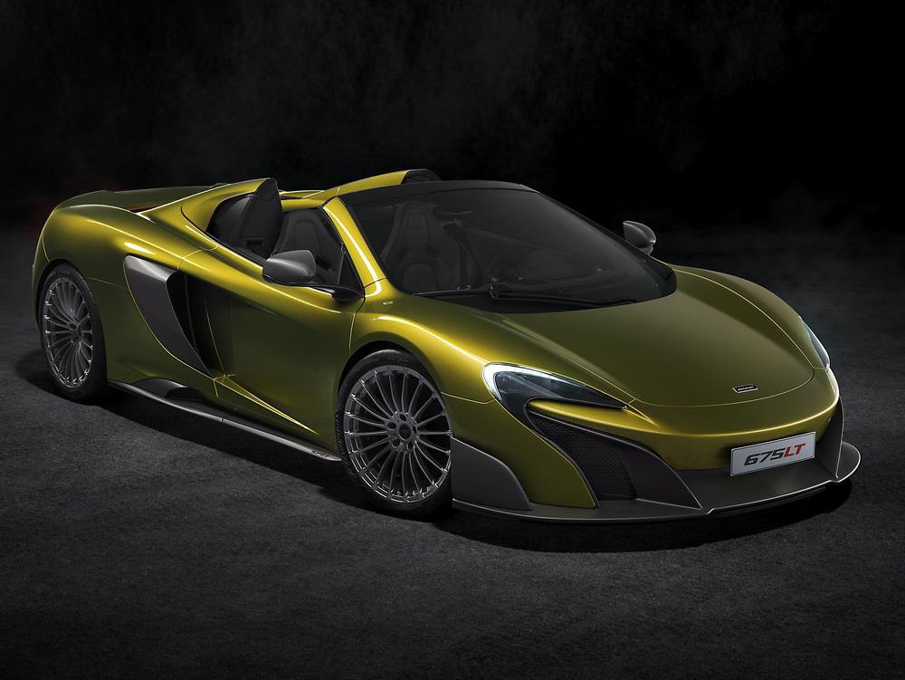 McLaren reveals 675LT Spider