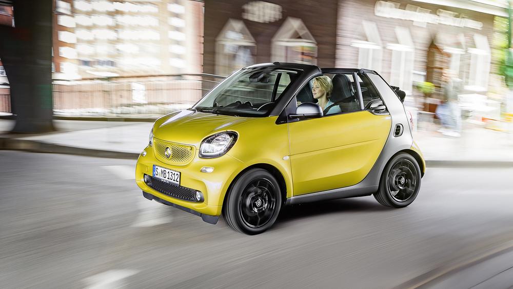 smart reveals new fortwo cabrio