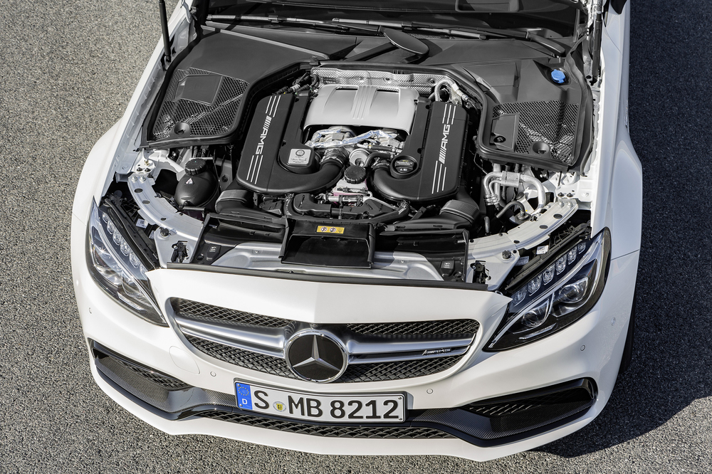 New Mercedes-AMG C 63 Coupe unveiled