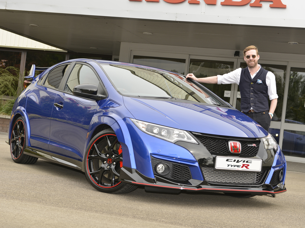 Ricky Wilson is the voice of Civic Type R