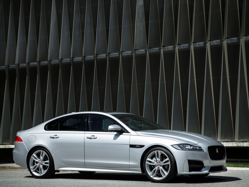 All-new Jaguar XF on sale