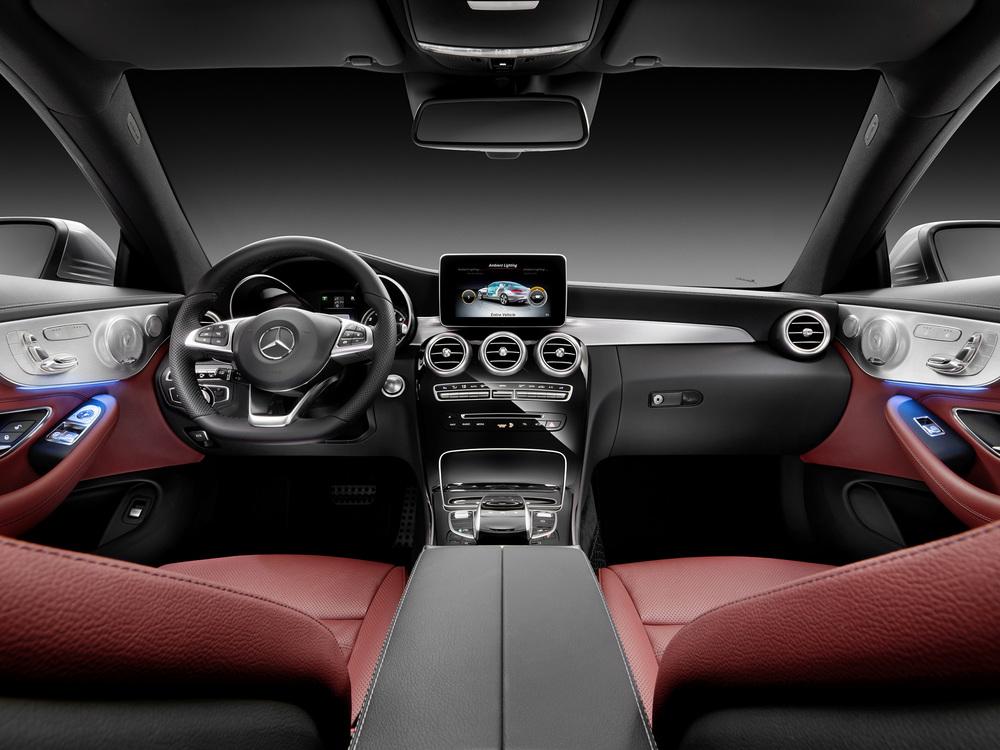 Mercedes unveils new C-Class Coupe