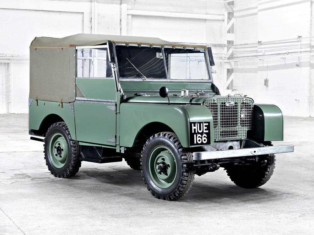 Land Rover celebrations at Goodwood Revival