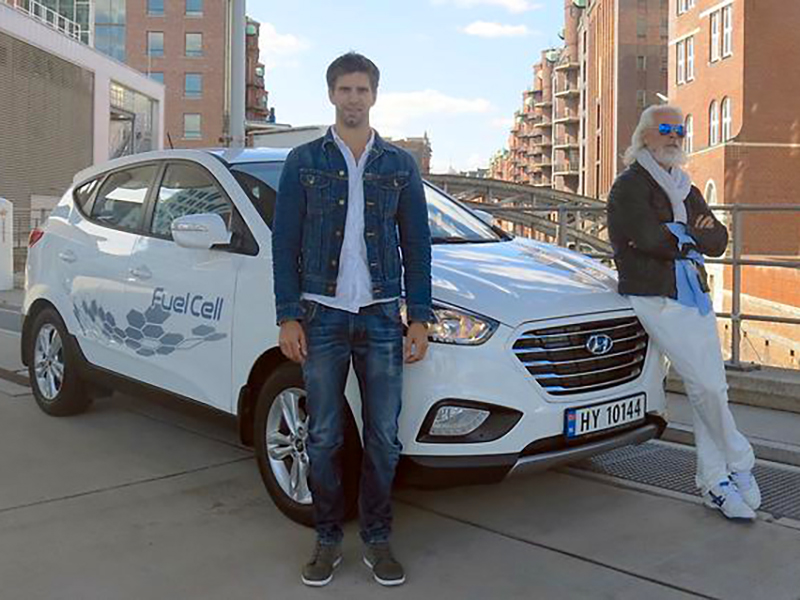 Hyundai ix35 Fuel Cell breaks zero-emissions record