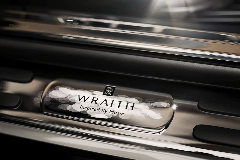 Rolls-Royce reveals Wraith Inspired by Music