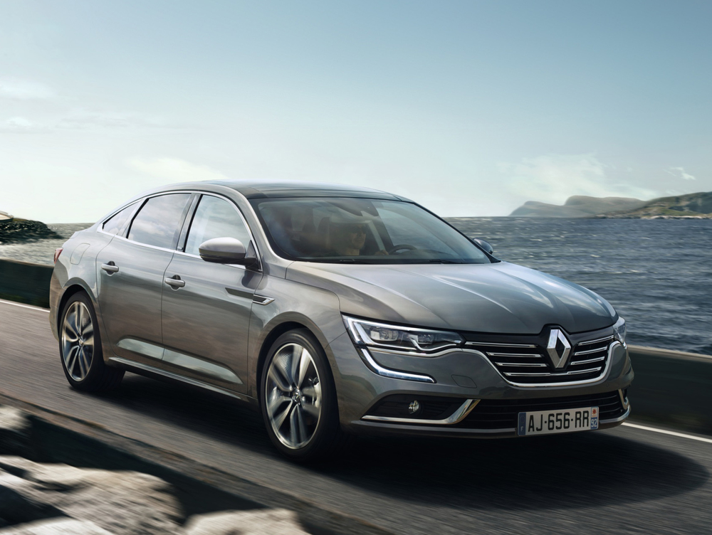 Renault reveals new Talisman saloon