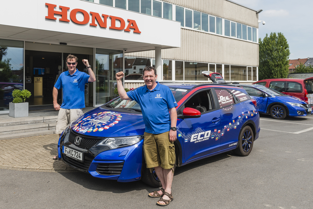 Honda sets Guinness World Record for fuel efficiency