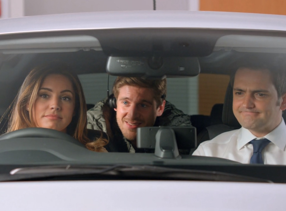 Kelly Brook stars in Hyundai i20 short comedy