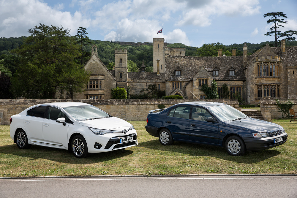Toyota celebrates 50 years in the UK