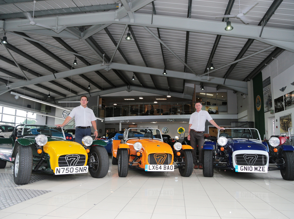 Caterham continues UK expansion with new dealers