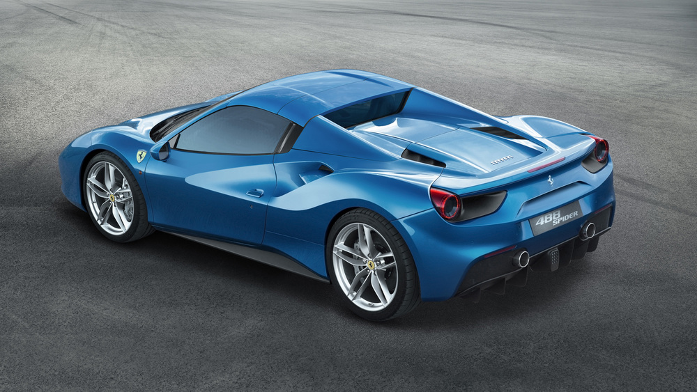 Ferrari reveals new 488 Spider