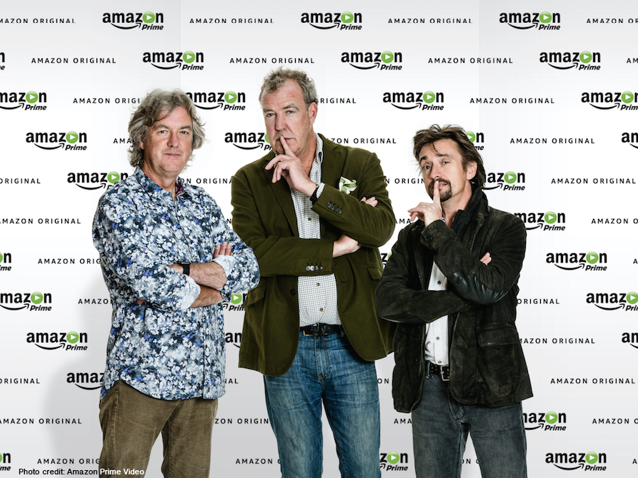 Amazon wins race to sign Clarkson, Hammond and May