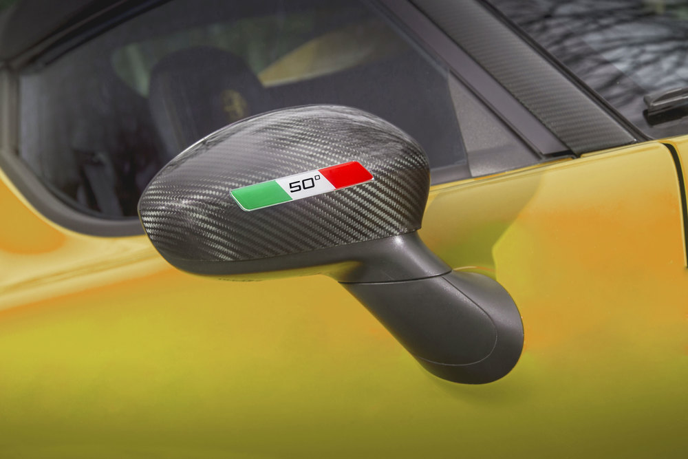 2-Alfa-Romeo-4C-Spider-50th-Anniversary-Limited-Edition---Wing-mirror-with-badge-on-yellow.jpg