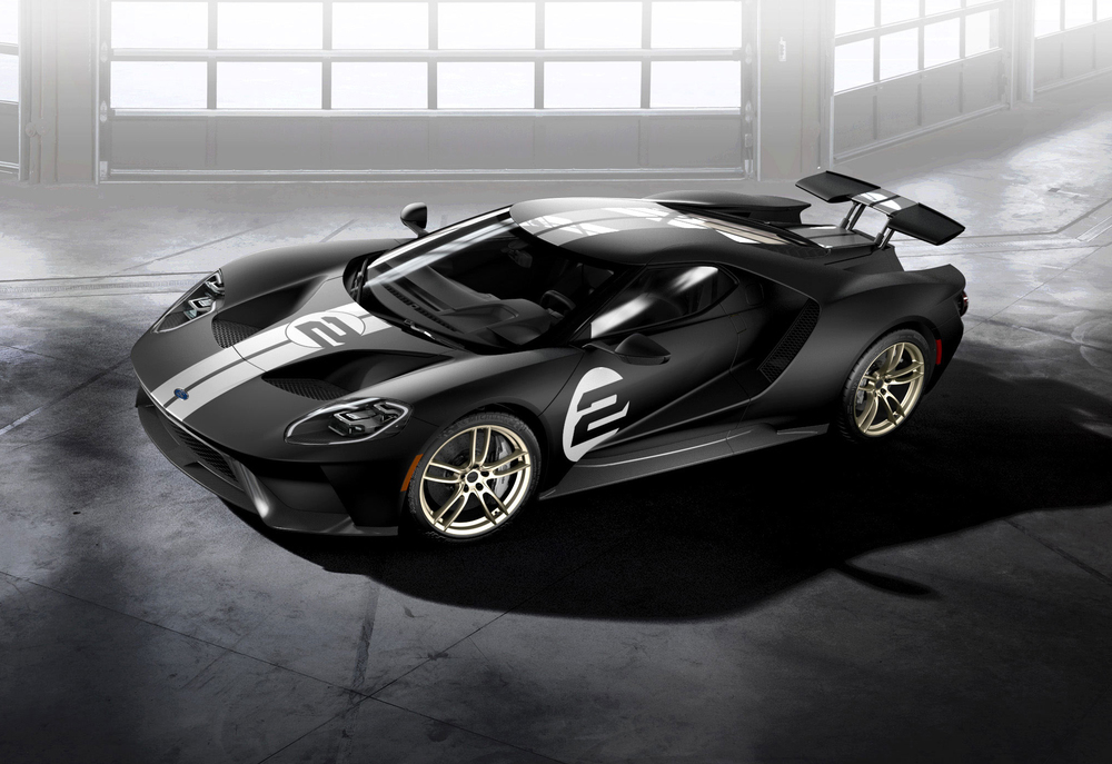 Ford GT _66 Heritage Edition honors No_2 race car limited to MY2017.jpg