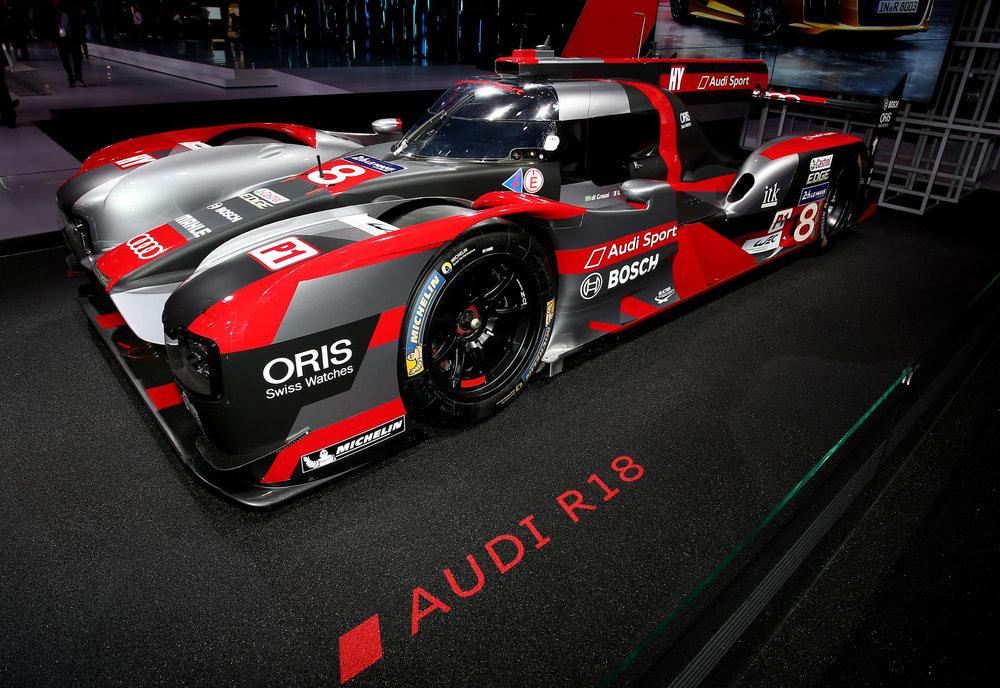 Audi R18 Le Mans racer