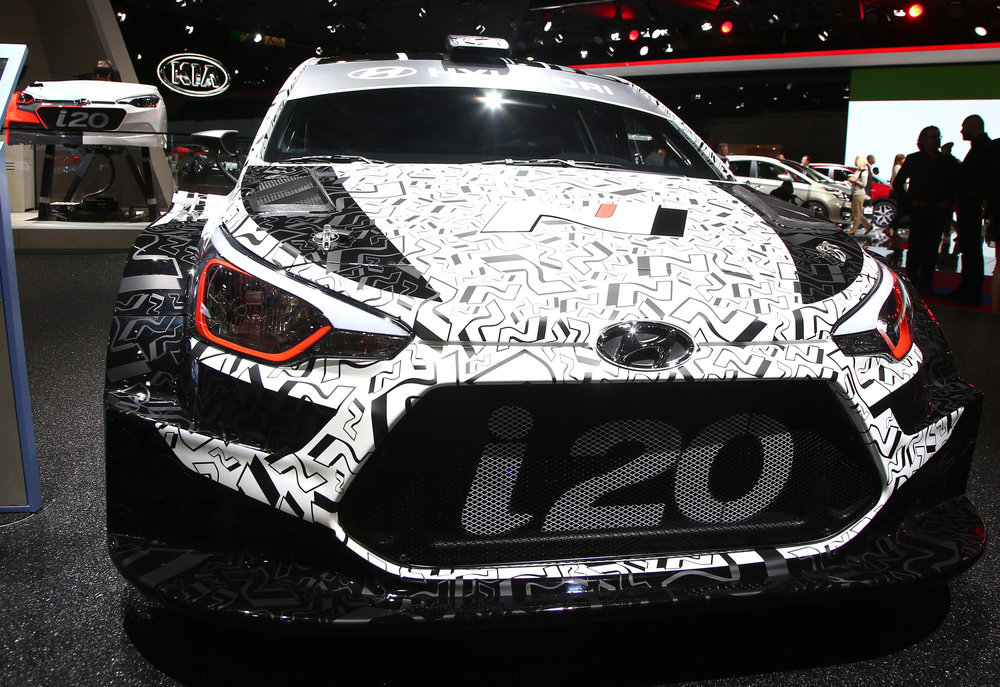 Hyundai i20 2017 WRC