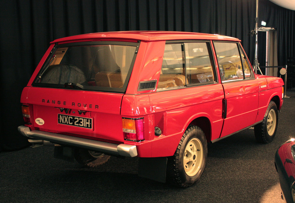 First production Range Rover
