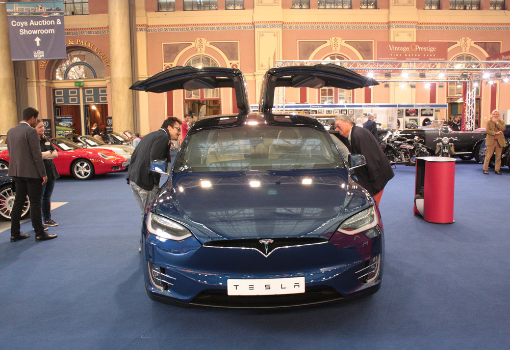 Tesla Model X a possible future classic