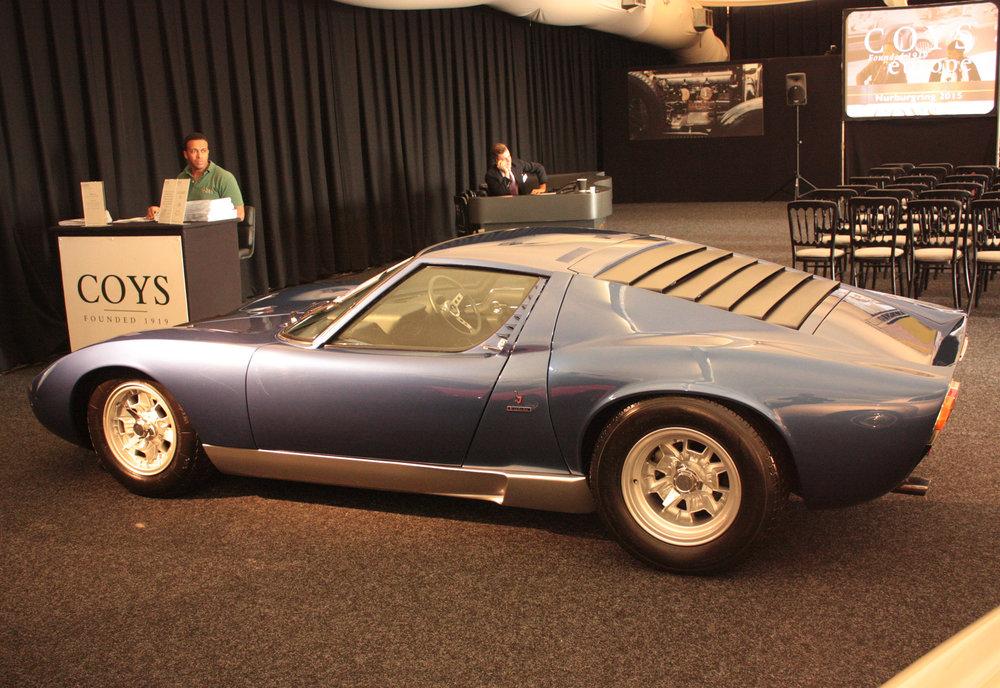 Ex Rod Stewart Lamborghini Miura