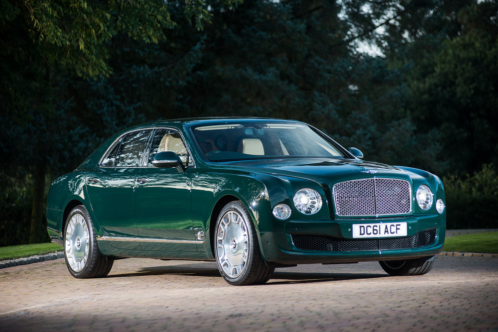 2012 Bentley Mulsanne - Formerly the Personal Conveyance of HM The Queen.jpg