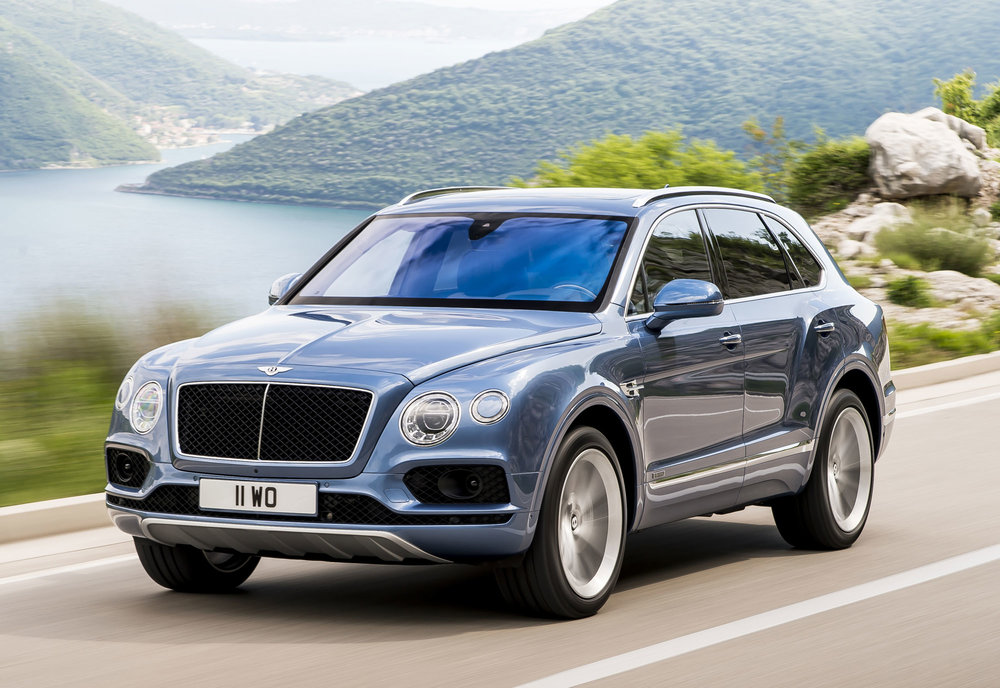 9. Bentley Bentayga